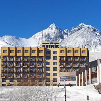 Magas – Tátra – Tatranské Matliare – Matlárháza – Hotel Hutník 1 ***