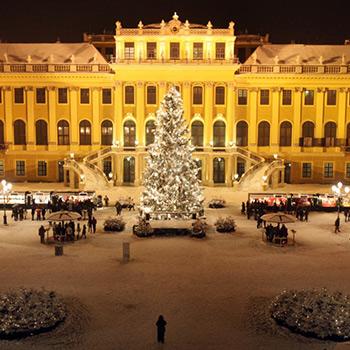 Budapešť, Viedeň, vianočné trhy