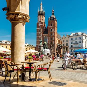 Poľsko, Varšava, Krakow, Wieliczka, poznávacie zájazdy