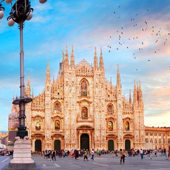 Miláno, Lago di Garda, Verona, Benátky